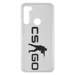 Чехол для Xiaomi Redmi Note 8 Counter Strike GO