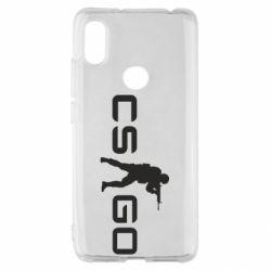 Чехол для Xiaomi Redmi S2 Counter Strike GO