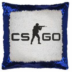 Подушка-хамелеон Counter Strike GO