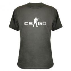 Камуфляжная футболка Counter Strike GO