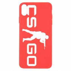 Чехол для iPhone X/Xs Counter Strike GO
