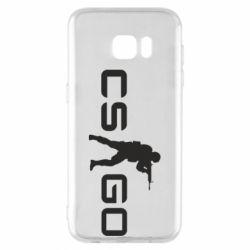 Чехол для Samsung S7 EDGE Counter Strike GO
