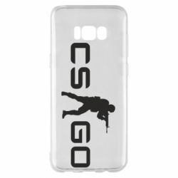 Чехол для Samsung S8+ Counter Strike GO