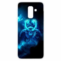 Купить Чехол для Samsung A6+ 2018 Counter Strike Logo, FatLine