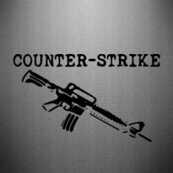 Наклейка Counter Strike М16