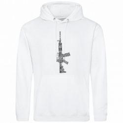 Мужская толстовка Counter Strike M16 - FatLine