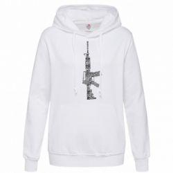 Женская толстовка Counter Strike M16 - FatLine