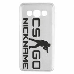 Чехол для Samsung A3 2015 Counter-Strike nickname