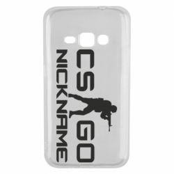 Чехол для Samsung J1 2016 Counter-Strike nickname