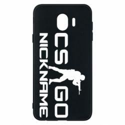 Чехол для Samsung J4 Counter-Strike nickname