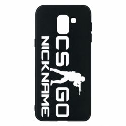 Чехол для Samsung J6 Counter-Strike nickname