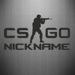 Наклейка Counter-Strike nickname
