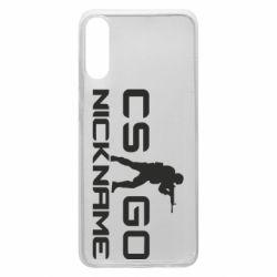 Чехол для Samsung A70 Counter-Strike nickname