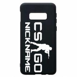 Чехол для Samsung S10e Counter-Strike nickname