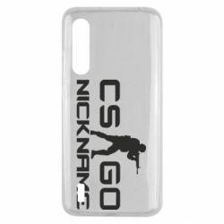 Чехол для Xiaomi Mi9 Lite Counter-Strike nickname