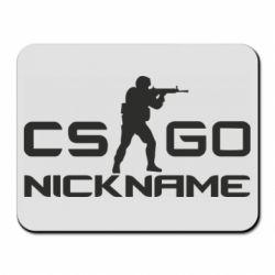 Коврик для мыши Counter-Strike nickname