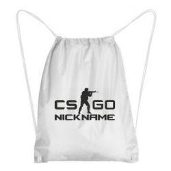 Рюкзак-мешок Counter-Strike nickname