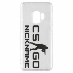 Чехол для Samsung S9 Counter-Strike nickname