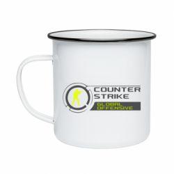 Кружка емальована Counter Strike Offensive