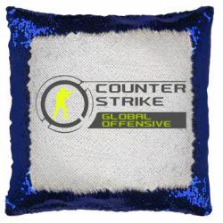 Подушка-хамелеон Counter Strike Offensive