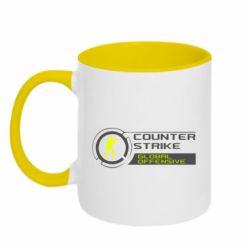 Кружка двоколірна 320ml Counter Strike Offensive