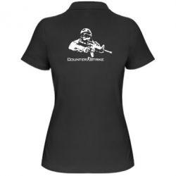 Женская футболка поло Counter Strike Player - FatLine