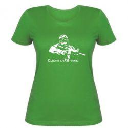 Женская футболка Counter Strike Player - FatLine