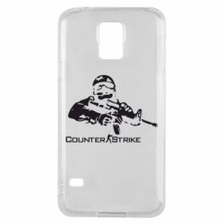 Чехол для Samsung S5 Counter Strike Player - FatLine