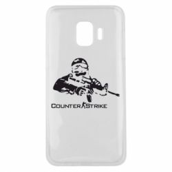 Чехол для Samsung J2 Core Counter Strike Player - FatLine