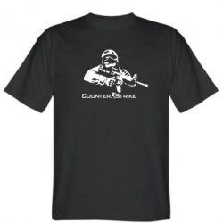 Мужская футболка Counter Strike Player - FatLine