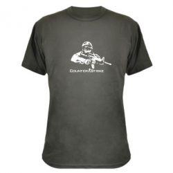 Камуфляжная футболка Counter Strike Player - FatLine