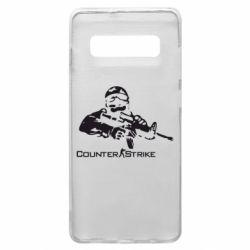 Чехол для Samsung S10+ Counter Strike Player
