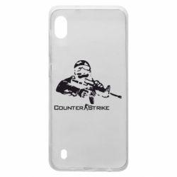 Чехол для Samsung A10 Counter Strike Player