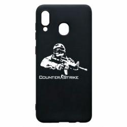 Чехол для Samsung A20 Counter Strike Player