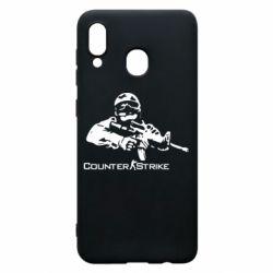 Чехол для Samsung A30 Counter Strike Player