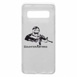 Чехол для Samsung S10 Counter Strike Player
