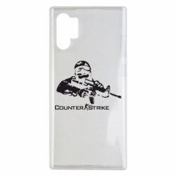 Чехол для Samsung Note 10 Plus Counter Strike Player