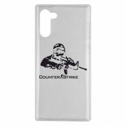 Чехол для Samsung Note 10 Counter Strike Player