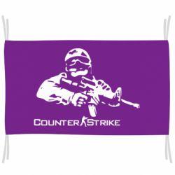 Флаг Counter Strike Player