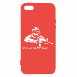 Чехол для iPhone5/5S/SE Counter Strike Player - FatLine