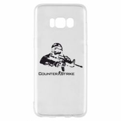 Чехол для Samsung S8 Counter Strike Player - FatLine