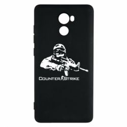 Чехол для Xiaomi Redmi 4 Counter Strike Player - FatLine