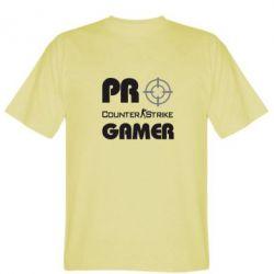 Мужская футболка Counter Strike Pro Gamer