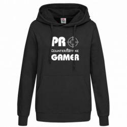 Женская толстовка Counter Strike Pro Gamer - FatLine