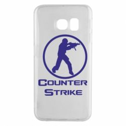 Чехол для Samsung S6 EDGE Counter Strike