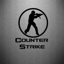 Наклейка Counter Strike - FatLine