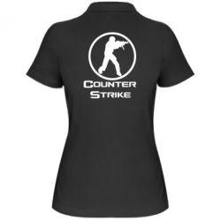 Женская футболка поло Counter Strike - FatLine