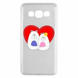 Чохол для Samsung A3 2015 Couple Bears