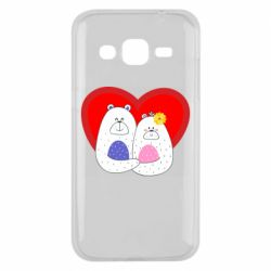 Чохол для Samsung J2 2015 Couple Bears