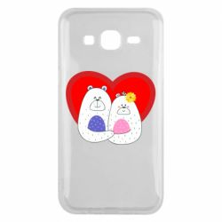Чохол для Samsung J5 2015 Couple Bears